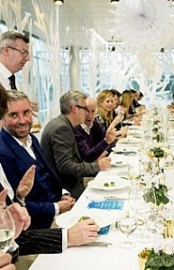 Pernod Ricard Christmas lunch